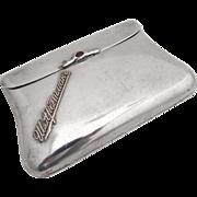 Russian 84 Standard Silver Purse S. Arbetman 1910