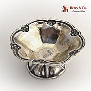 Open Salt Dish Moscow 1858 Russian 84 Standard Silver