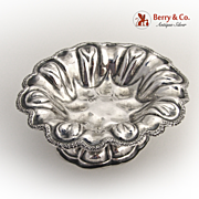 Ornate Open Salt Dish 1870 Russian 84 Standard Silver