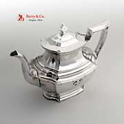 Carmel Tea Pot Wallace 1930 Sterling Silver