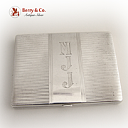 Compact R.Blackinton 1920 Sterling Silver