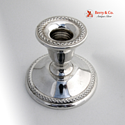 Candlestick Holder Rogers Sterling Silver