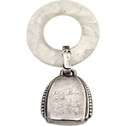 Baby Rattle Webster Sterling Silver