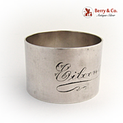 Napkin Ring 1920 Sterling Silver