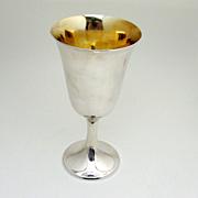 Gorham Goblet Puritan Sterling Silver 272 1930