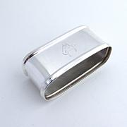 Napkin Ring 835 Silver 1900