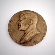 John F Kennedy Bronze Medal