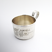 Presentation Cup Sterling Silver S Kind And Sons 1945