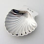 Tiffany Shell Form Nut Dish Sterling Silver 1910