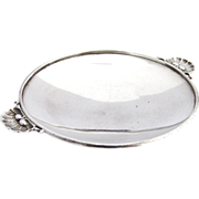 Georg Jensen Shell Handle Small Serving Dish Sterling Silver 1945