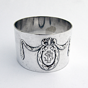 Napkin Ring 1900 Silver Plate