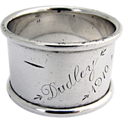 Napkin Ring Schofield Sterling Silver