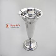 Trumpet Form Large Vase 830 Standard Silver Scandinavian 1920