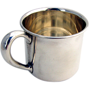 Baby Cup Sterling Silver Webster 1940