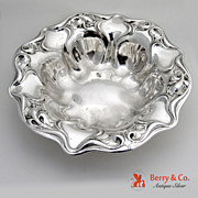 Eton Round Vegetable Bowl Sterling Silver Wallace 1903