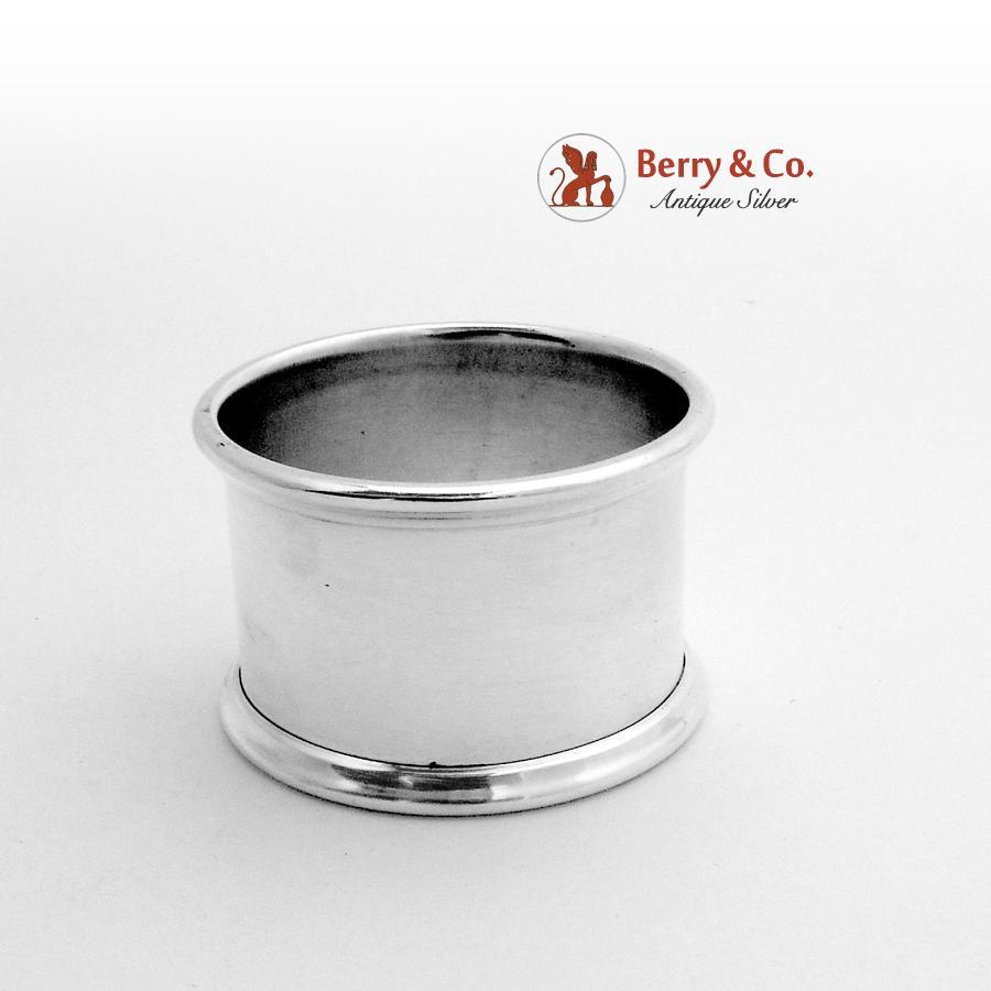 napkin ring sterling silver gorham 1940 from berrycom