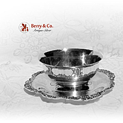 Baroque Sauce Boat Silver Plate Wallace 1941