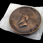 Rare George F Robinson Medal Bronze US Mint 1900