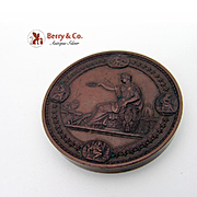 Philadelphia Centennial Bronze Award Medal 1876