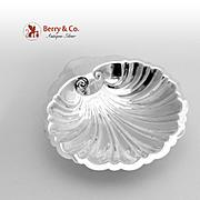 Shell Form Serving Bowl Sterling Silver Hunt 1950