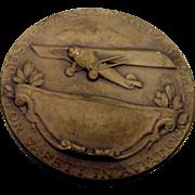 Joseph A Stienmetz Personal Safety In Aviation Medal Bronze Jos K Davison Sons 1920