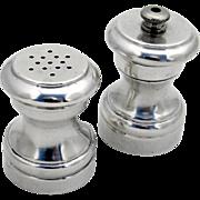 Salt Shaker Pepper Grinder Set Sterling Silver Revere Silversmiths 1950