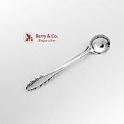 Lyric Salt Spoon Brooch Pin Sterling SIlver Gorham 1940