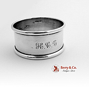 Napkin Ring Sterling Silver 1950