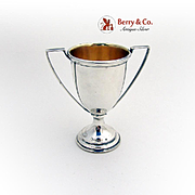 Miniature Trophy Cup Sterling Silver Dominick Haff 1900