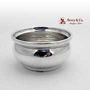 Asprey Elegant Open Salt Dish Sterling Silver 1951