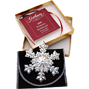 Gorham Christmas Ornament Sterling Silver 2000