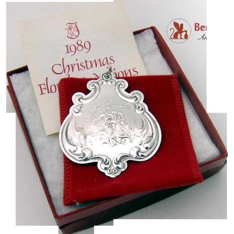 Towle Christmas Ornaments