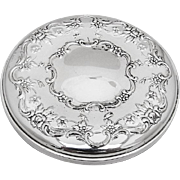 Old Master Pocket Mirror Sterling Silver Towle 1942