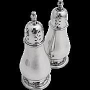 Prelude Salt Pepper Shaker Set Sterling Silver 2 Pieces International 1940