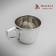 Baby Cup Sterling Silver WEB 1960