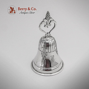 American Colonial Revival Bell Sterling Silver 1910