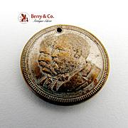 James Garfield Chester A Arthur Presidential Campaign Coin Medal 1880