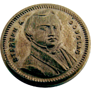Stephen Douglas Presidential Campaign Coin 1860