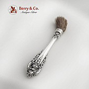 Grand Baroque Makeup Brush Sterling Silver Wallace 1941
