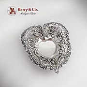 Heart Footed Bowl Gorham 1892 Sterling Silver No Monogram