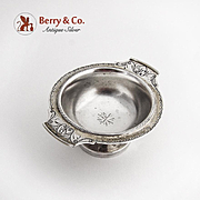 Aesthetic Open Salt Dish Cellar 800 Silver 1880