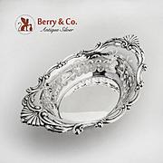 Cromwell Large Bon Bon or Nut Bowl Sterling Silver Gorham Silversmiths