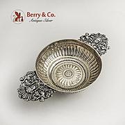 Antique Silver Dutch Brandy Bowl 18th Early 19th Century
