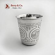 Russian Beaker 84 Standard Silver large Vodka Cup 1875