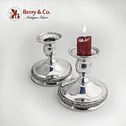 Prelude Candlesticks Sterling Silver International 1939
