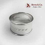 Napkin Ring Sterling Silver Gorham Silversmiths Mono SSA