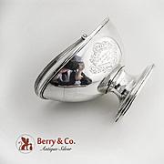 Coin Silver Swing handle Sugar Basket 1840s