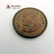 U S Grant Token Municipal Parade Employees of the US Mint Philadelphia Dec 16 1879