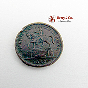 Civil War Token George Washington Union Forever Andrew Jackson Token