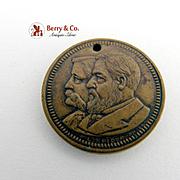 Blaine Logan Token Presidential Campaign 1884